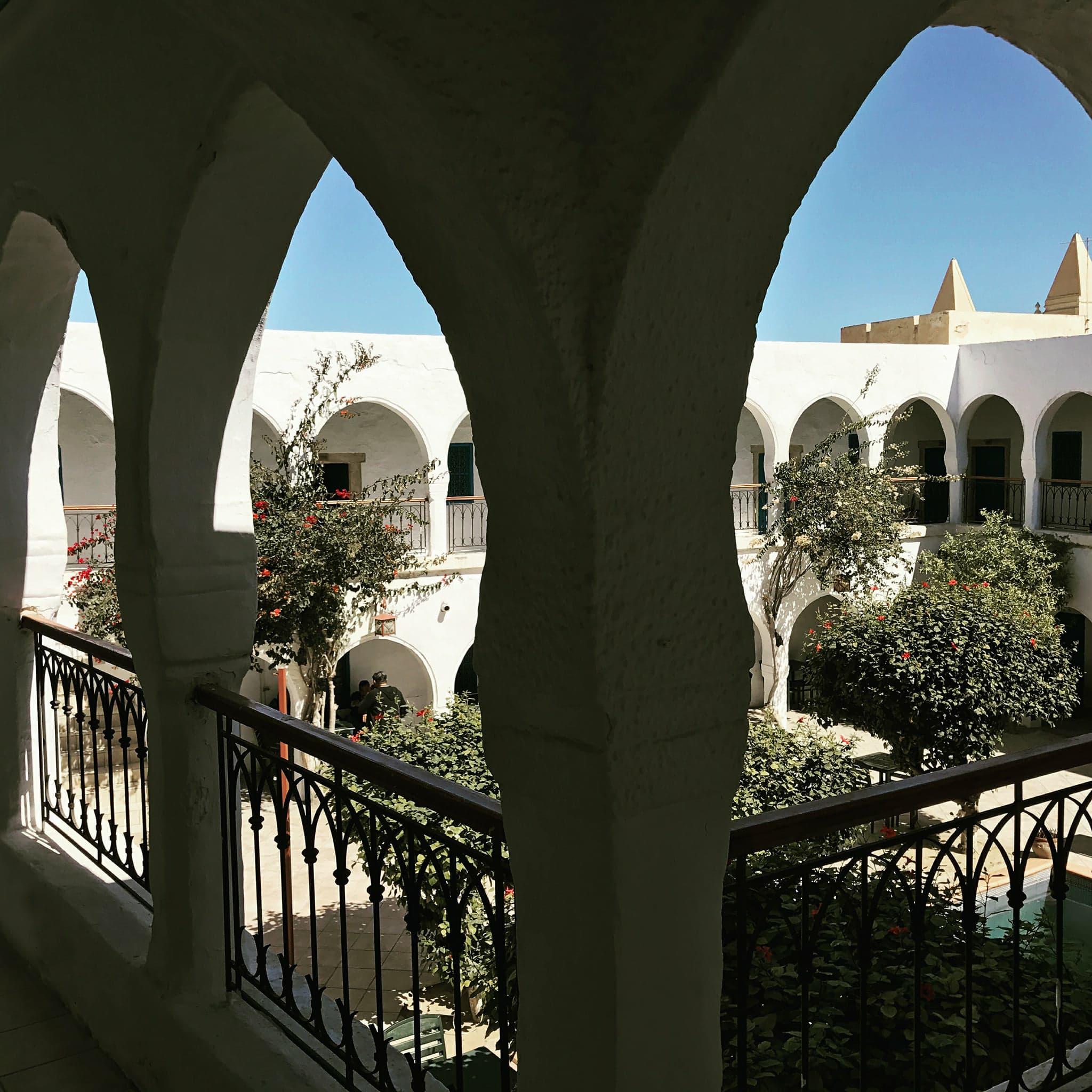 Hôtel caravansérail Djerba Tunisie
